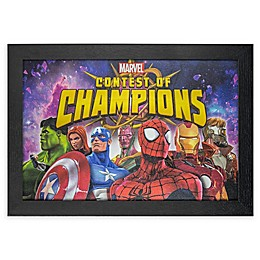 Masterpiece Art Gallery Marvel Contest of Champions 13-Inch x 19-Inch Framed Print Wall Art