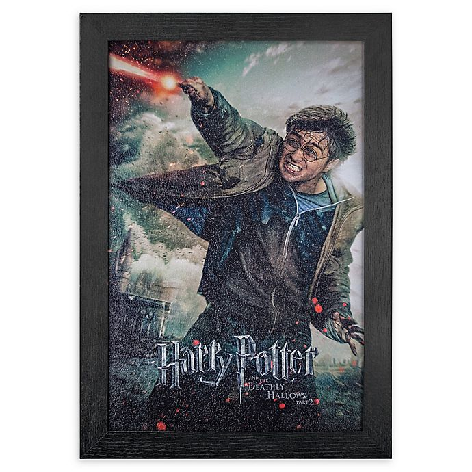 Alternate image 1 for Harry Potter and the Deathly Hallows, Part II 13-Inch x 19-Inch Framed Print