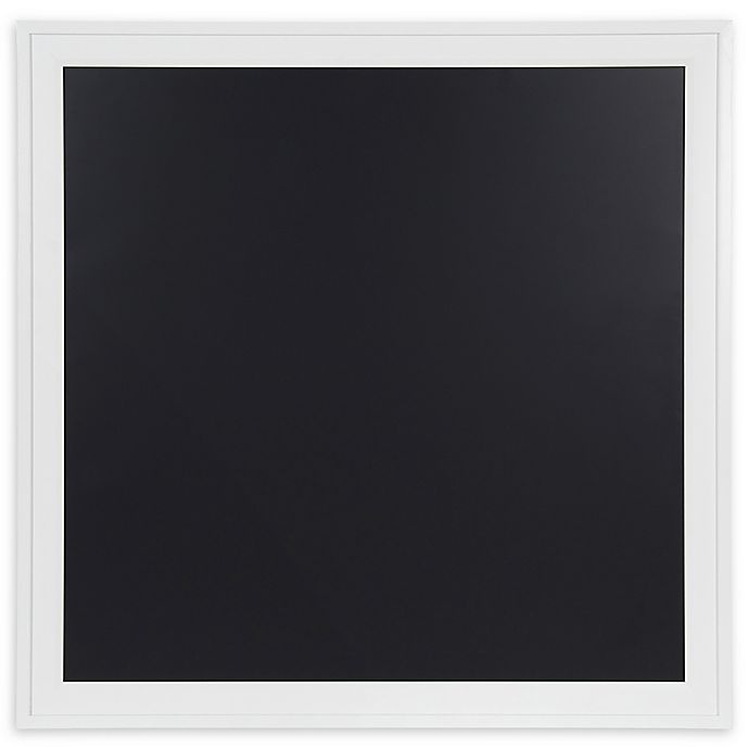 Alternate image 1 for Bosc 31.5-Inch Framed Magnetic Chalkboard