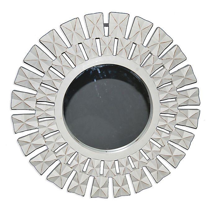 Starburst 24 Inch Round Wall Mirror In