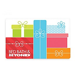 Colorful Presents Gift Card