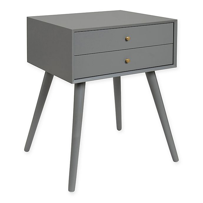 Alternate image 1 for Kate and Laurel Finco 2-Drawer Nightstand