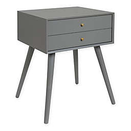 Kate and Laurel Finco 2-Drawer Nightstand