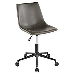 Lumisource® Faux Leather Swivel Duke Office Chair