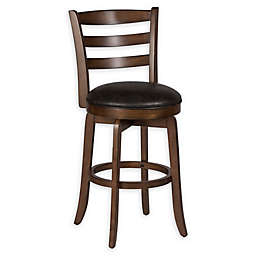 Bee & Willow™ Home Ladder Back 26-Inch Counter Stool in Espresso
