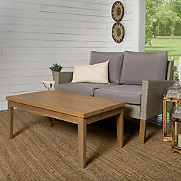 Forest Gate 2-Piece Deep-Seated Wicker Chat Set in Grey