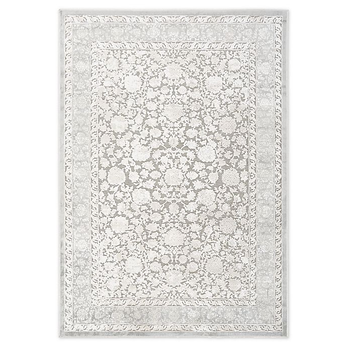 Home Dynamix Infinity Floral Bordered Area Rug Bed Bath
