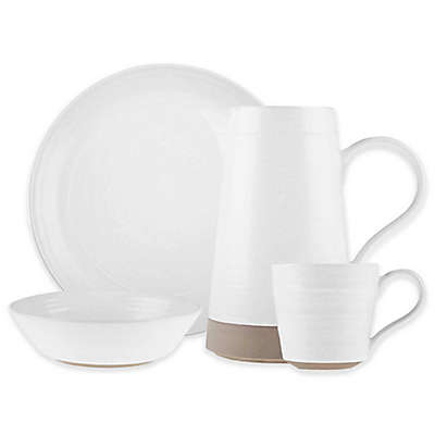 Bee & Willow™ Home Milbrook Dinnerware Collection in Coconut White