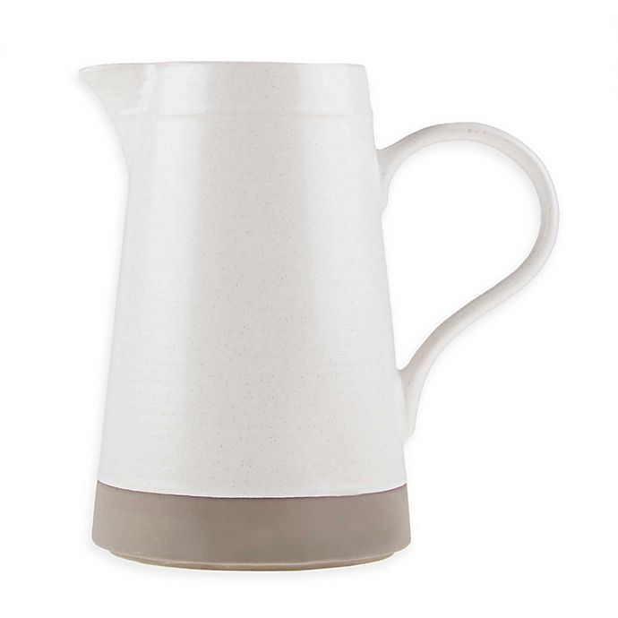 Alternate image 1 for Bee & Willow™ Home Milbrook Pitcher in Coconut White