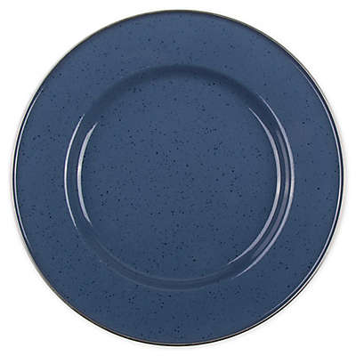 Bee & Willow™ Home Milbrook 12-Inch Enameled Serving Plate in Blue