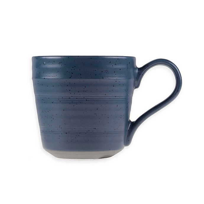 Alternate image 1 for Bee & Willow™ Home Milbrook Stoneware Mug in Blue