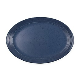 Bee & Willow™ Home Milbrook 14-Inch Oval Platter in Blue