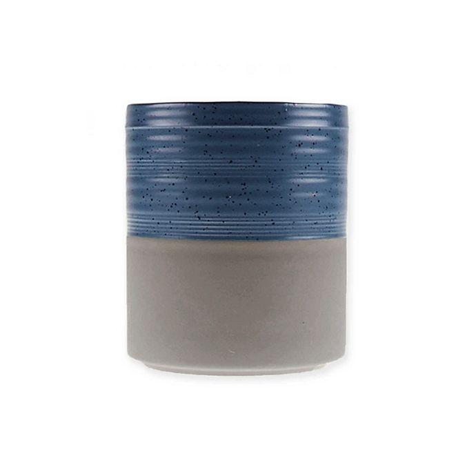 Alternate image 1 for Bee & Willow™ Home Milbrook Stoneware Utensil Crock in Blue