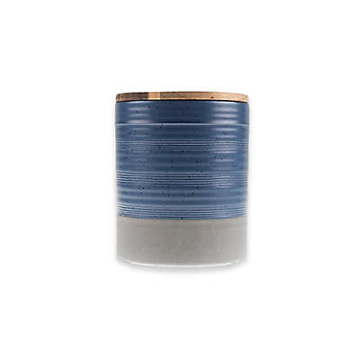 Bee & Willow™ Home Milbrook Small Canister in Blue