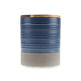 Bee & Willow™ Home Milbrook 66 oz. Medium Canister in Blue