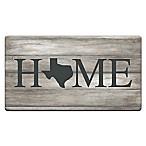 "Home State Texas 20"" x 36"" Kitchen Comfort Mat"