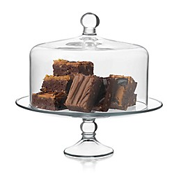 Libbey® Glass Selene 2-Piece Cake Dome in Clear
