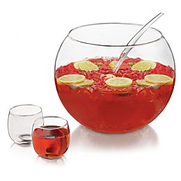 Libbey® Glass Selene 10-Piece Punch Bowl Set in Clear