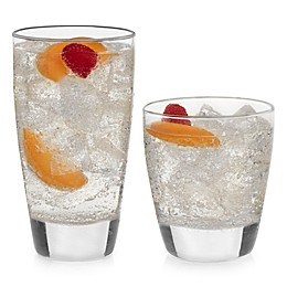 Libbey® Glass Classic 16-Piece Drinkware Glass Set in Clear