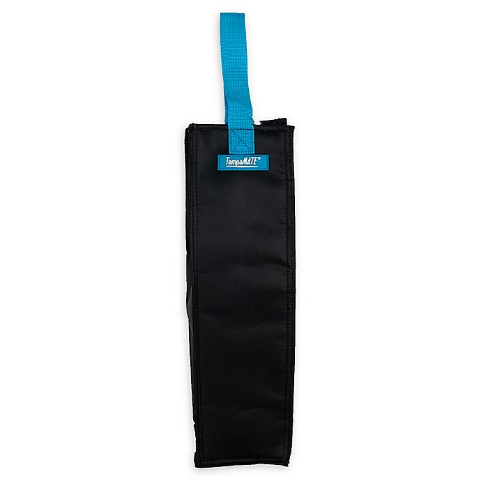 Alternate image 1 for TempaMATE® Insulated Wine Tote Bag in Black
