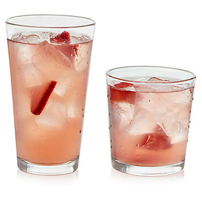 Libbey® Glass Flare 16-Piece Drinkware Set in Clear