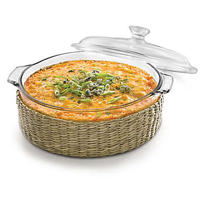 Libbey® Glass Bakers 2 Qt. Casserole Dish with Cover in Clear