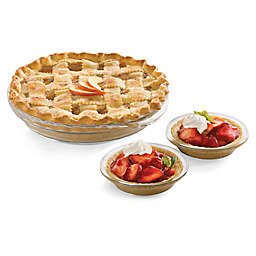 Libbey® Glass Bakers 6-Piece Pie Dish Set in Clear