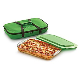 Libbey® Glass Baker's Basic 4-Piece 9-Inch x 13-Inch Baking Dish Set in Green