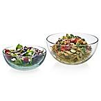 Libbey® Glass Selene 2-Piece Serving Bowl Set in Clear