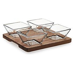 Libbey® Glass Acacia 5-Piece Serving Set