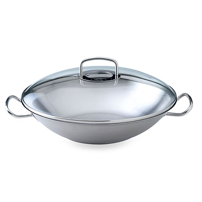 Fissler Original Pro Collection 13 8 Inch Covered Wok With