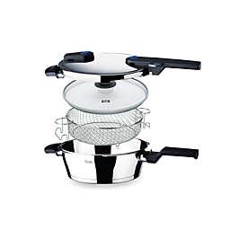 Fissler Vitaquick 4.2-Quart Pressure Pan Set