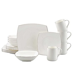 Mikasa® Couture Platinum 16-Piece Dinnerware Set