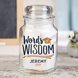 Graduation Wishes & Memories Personalized Jar