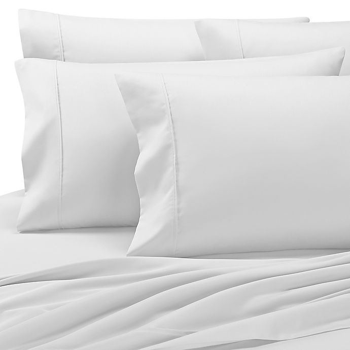 Alternate image 1 for Grand Manor 1000-Thread-Count Queen Sheet Set in White