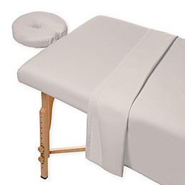 Heartland® HomeGrown™ 400-Thread-Count  Massage Twin Sheet Set