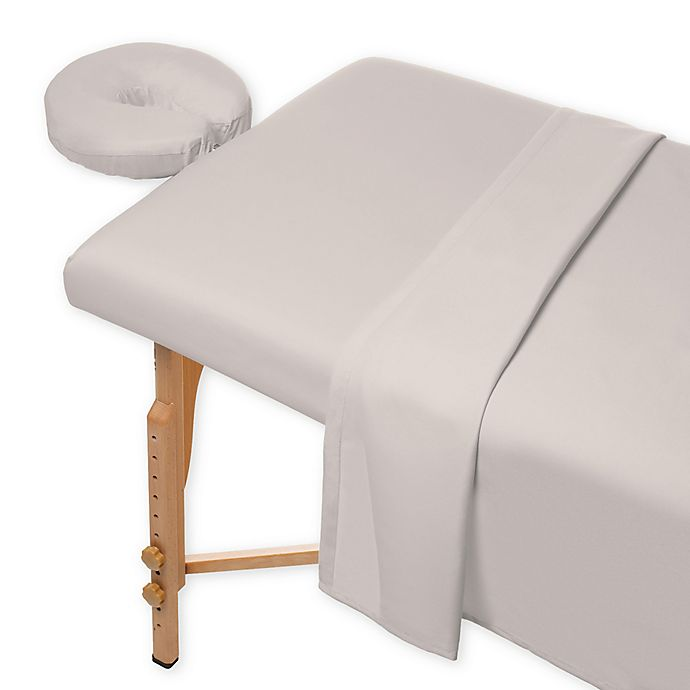 Alternate image 1 for Heartland® HomeGrown™ 400-Thread-Count Massage Twin XL Sheet Set