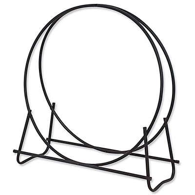UniFlame® 48-Inch Log Hoop in Black