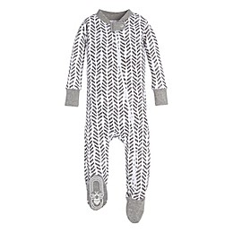 Burt's Bees Baby® Guide the Way Toddler Sleeper in Grey