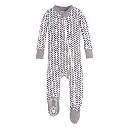 Burt's Bees Baby® Guide the Way Toddler Sleeper in Grey