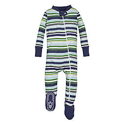Burt's Bees Baby® Vintage Stripe Sleeper in Green