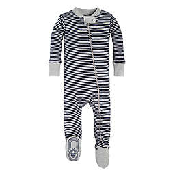 Burt's Bees Baby® Stripe Sleeper in Grey