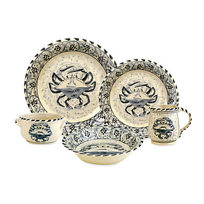 Blue Crab Bay Co.® Stoneware Dinnerware Collection