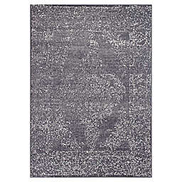 Novelle Home Finesse Area Rug in Grey