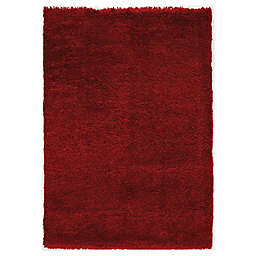 """Novelle Home Symphony 7' 10"""" x 11' 2"""" Area Rug in Red"""