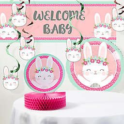 Creative Converting™ 8-Piece Bunny Party Baby Shower Decorations Kit