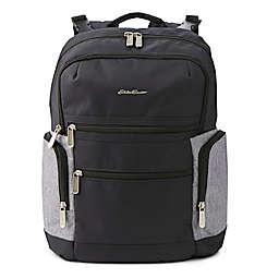Eddie Bauer® Field Diaper Backpack in Black