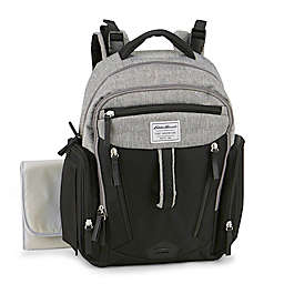 Eddie Bauer® Quest Diaper Backpack in Black