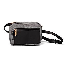 Petunia Pickle Bottom® Crossbody Belt Bag in Graphite/Black