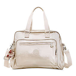 Kipling Alanna Over-the-Shoulder Diaper Bag in Gold